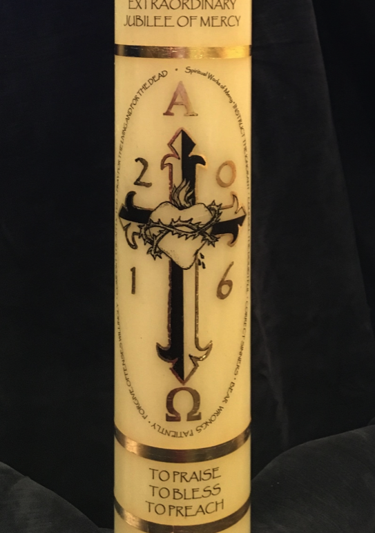 Let There Be Light – The Year of Mercy Candle