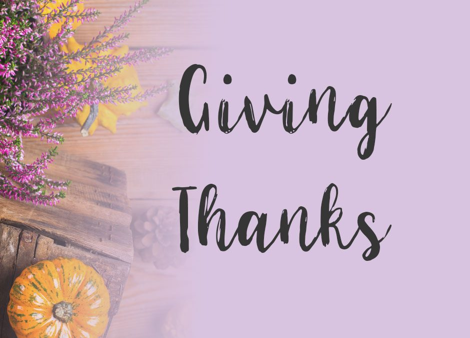 Bring Thanks and Giving to your Family's Thanksgiving