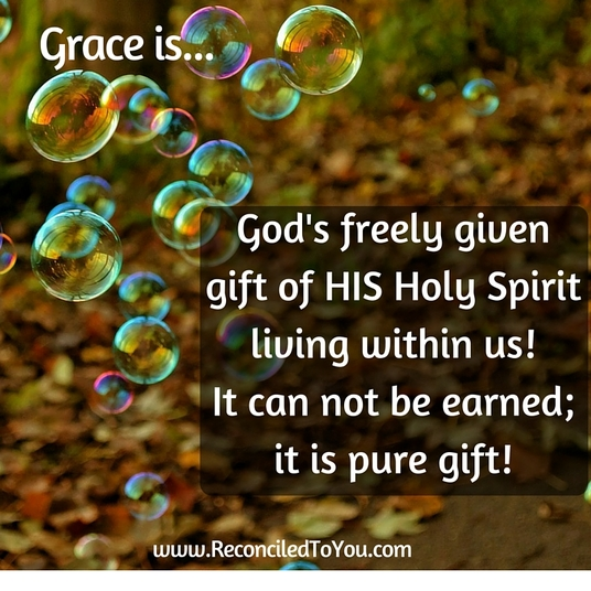 Grace Is by Allison Gingras