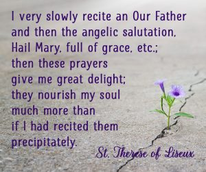 Quote by St. Therese Liseux