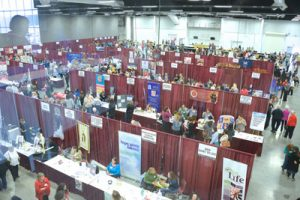 Vendor Area from Above 2017