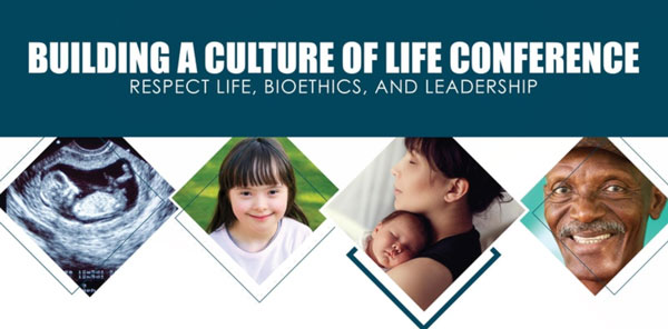 Building a culture of life conference logo