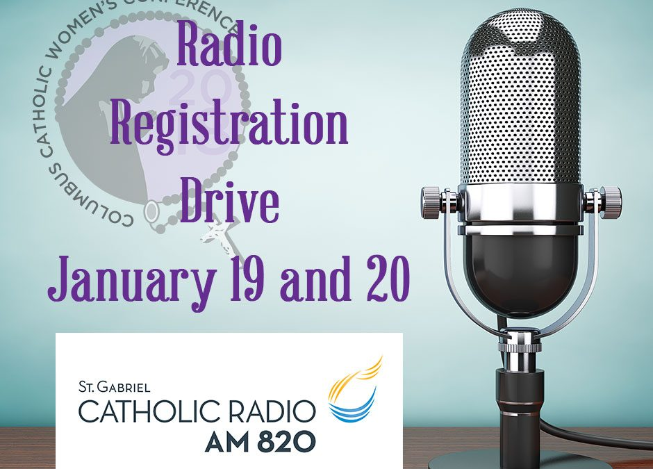 Conference Speakers, Testimonials, and More During St. Gabriel Radio Registration Drive
