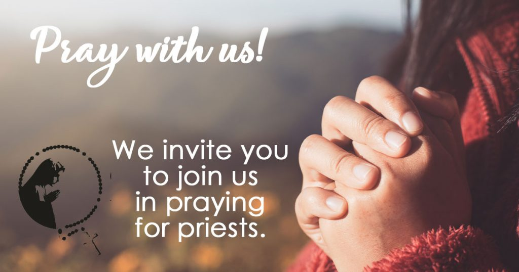 Pray with us for priests